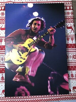 The Who set of three concert photos on canvas moon daltrey Townshend 1975