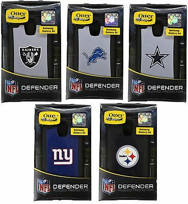 Brand New!! Otterbox Defender Series NFL Football Case for Samsung Galaxy S4