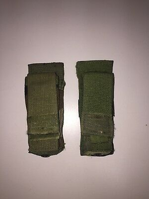 Lot of (2) SDS, .45 MEU SOC Magazine Pocket, Woodland FSBE Pistol Mag Pouches