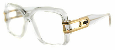 d19e2175aa6 Authentic Cazal 623 065 Legends Crystal Gold Plastic Square Eyeglasses 57mm