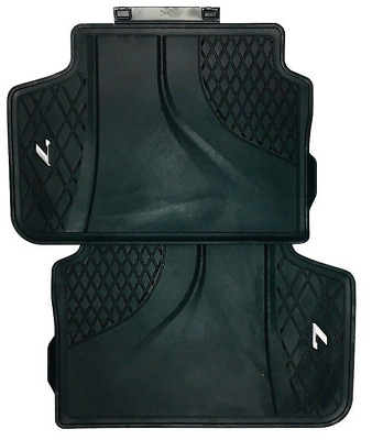 New OEM BMW 7 Series G11 G12 LHD All Weather Rubber Floor Mats Rear 2444039
