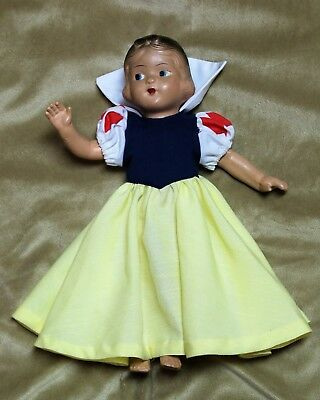 Vintage Snow White Composition Doll