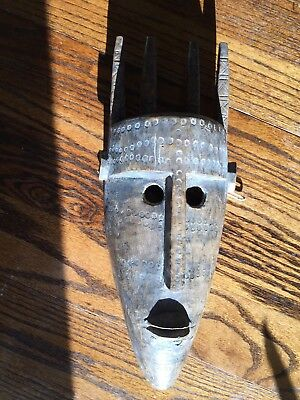 Old African Carved Wood Mask -Bamana Mali ?
