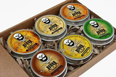 Beard Balm Ultimate Collection 6 Tins x 30ml - All Natural Organic Ingredients