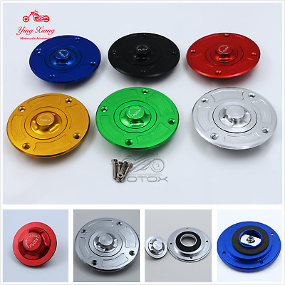 CNC Keyless Fuel Gas Tank Cap fit for Suzuki GSXR600/750 97-03 GSXR1000 01-02