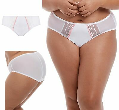 Elomi Matilda Briefs Knickers Panties Underwear 8905 White Various Sizes NEW