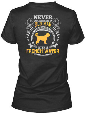 Old Man With A French Water T S Gildan Women's Tee T-Shirt