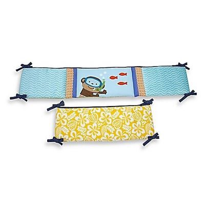 Carter's Baby Laguna Collection Traditional Padded Crib Bumper Newborn
