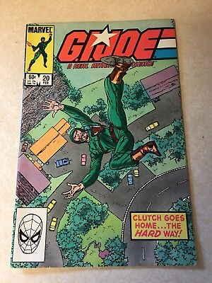 GI Joe Comic #20 Feb 1984