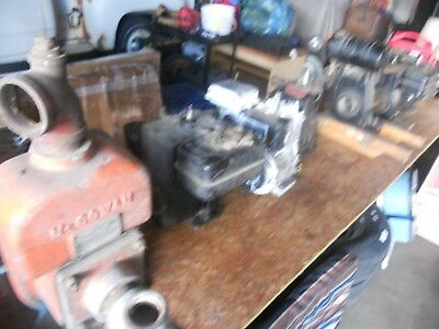 7 Small Vintage Gas Motors == David Bradley/ Briggs And Stration / Others