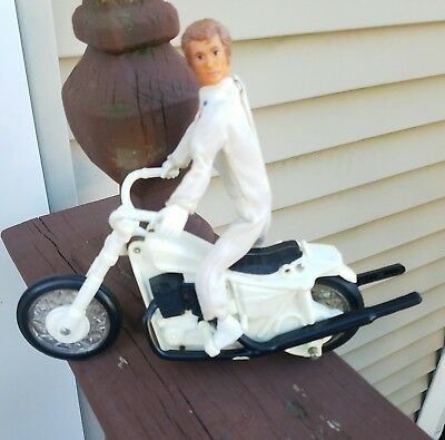 Vintage  Ideal Evel Knievel Stunt Cycle Box Only