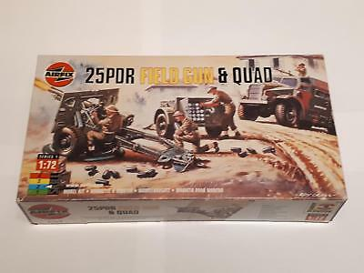 Airfix 01305 25PDR Field Gun and Quad British Army Artillery Truck 1:76 WWII