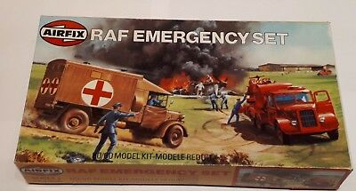 Airfix 02304 RAF Emergency Set British Royal Air Force Ground Vehicle HO-OO WWII