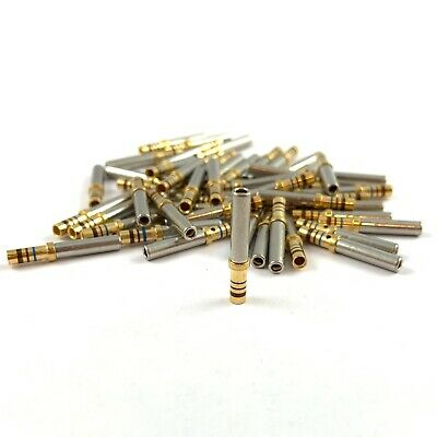 50x M39029/5-116 Milspec 20-16 AWG Gold Solid Socket Female Contact Terminal