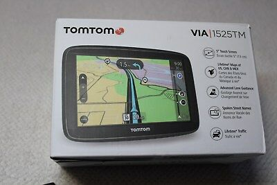 Tomtom Via 1525TM with Lifetime Maps and Lifetime Traffic