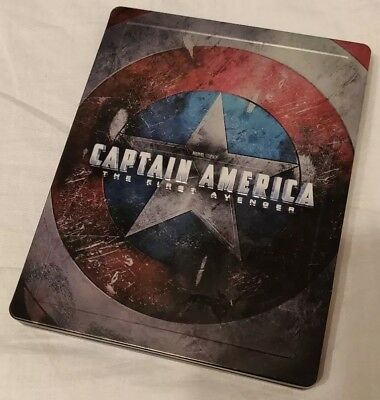 Captain America First Avenger Steel Book Bluray Limited Edition
