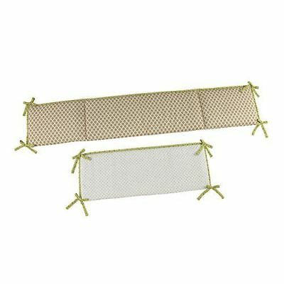 Little Bedding by NoJo Traditional Crib Bumper Critter Pals Newborn Baby