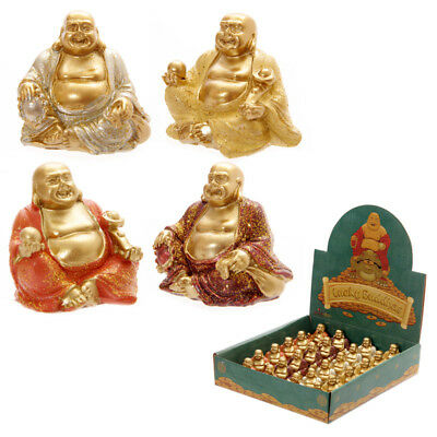 Lucky Glitter Buddha Mini Collectable Figurine