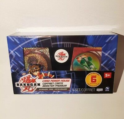 New Bakugan Battle Brawlers Card Power House Boxset 30 Ability-Metal Gate Cards
