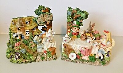 Alice in Wonderland Bookends From Smithsonian Institution