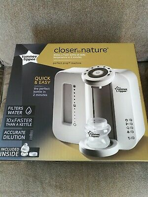 Tommee Closer to Nature Prep Machine Include 150ml Feeding Bottle