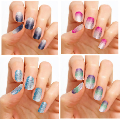 LOT of 4 Assorted Ombre Color Street - Incoco Nail Polish Strips LAST SETS