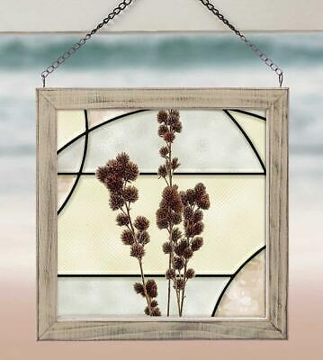 Roadside Beauties - Burdock Stained Glass Art