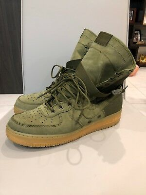 NIKE MENS SF AF1 Special Field Air Force 1 Faded Olive