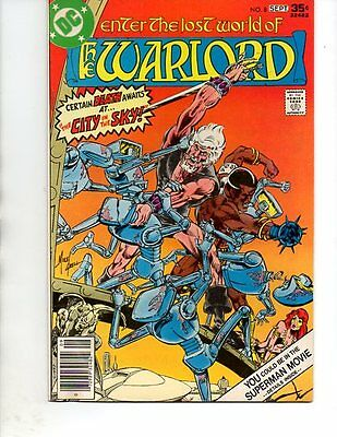 The Warlord #8- bronze age( 1977 DC ) Mike Grell--VF