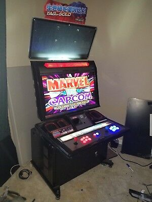 Merveilleux Namco Noir HD Candy Cab 2 Player Fighting Arcade Cabinet Cab Machine 800  Games