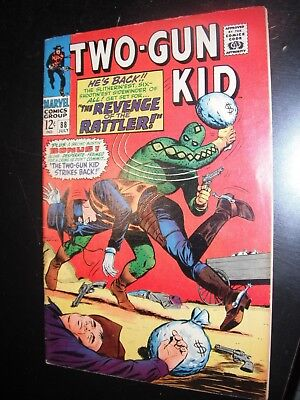 Two-Gun Kid 88 Silver Age Marvel Western Comic