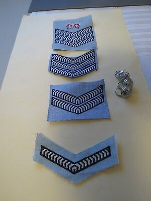NSW Police 1970s Summer Chevrons and Buttons