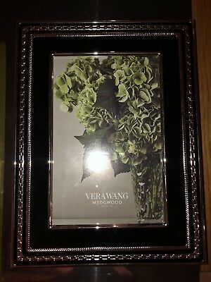 Wedgwood Vera Wang With Love Collection Black Picture Frame 2249