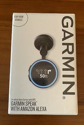 Garmin Speak GPS with Amazon Alexa