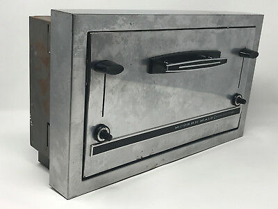 Vintage Modern Maid Stainless Steel 4 Slice In Wall Toaster - Working