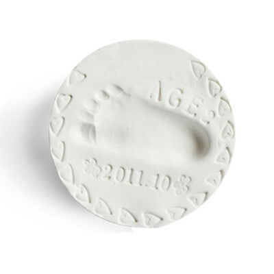 Baby Handprint Clay 1 Pack 100 gram White with Ribbon