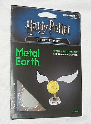 Fascinations Metal Earth 3D Steel Model Kit Harry Potter Quidditch Golden Snitch
