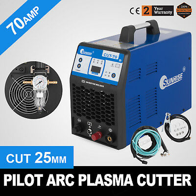 70A Sherman Plasma Cutter with Compressor Thickness Cut 25mm! 70A Max brand new!