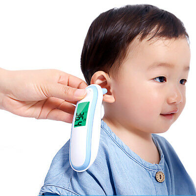 Electronic Digital Temperature Thermometer Infrared Ear Underarm Infants Baby