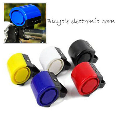 Electronic Alarm Electric Warning Bell Bicycle Horn Loud Handle Bike Cycling HOT