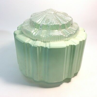 Classic Art Deco Light Shade Green