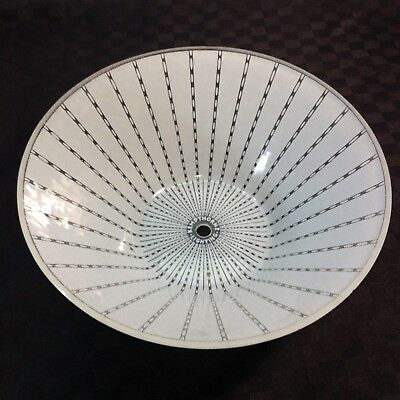 Vintage Mid Century KEMPTHORNE Glass Light Shade