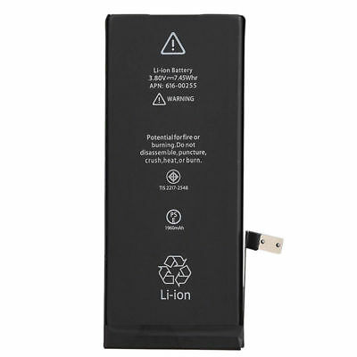 Original 1960mAh Lithium Replacement Internal Battery for iPhone 7 + Repair Kit