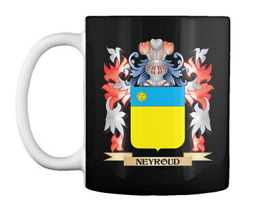Neyroud Coat Of Arms Family Crest Gift Coffee Mug