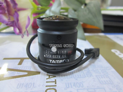 1PC TAMRON 13FG22IR 2.2mm Automatic aperture Wide-angle Lens#SS