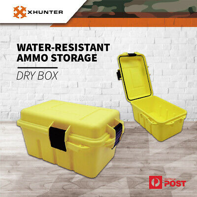 Xhunter Weather Resistant Ammo Case Ideal For Bulk Ammo Storage Survivor Dry Box