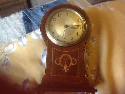 Wooden mantle Clock ( made in France)
