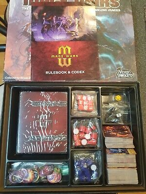 MAGE WARS board game  Arcane Wonders customizable strategy dueling