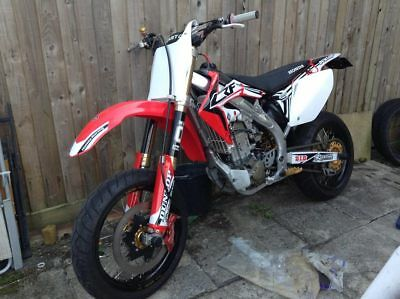 Honda CRF 450r Supermoto road legal supermotard
