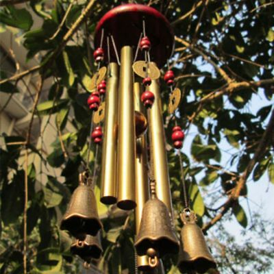 Large Wind Chimes Bells Copper Yard Garden Home Decor Ornament Windbell Gift